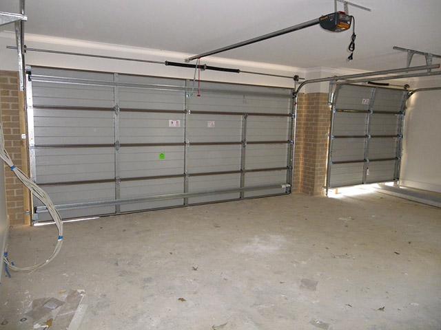 garage door inside. Picture Of Fith New Garage Door From Inside A